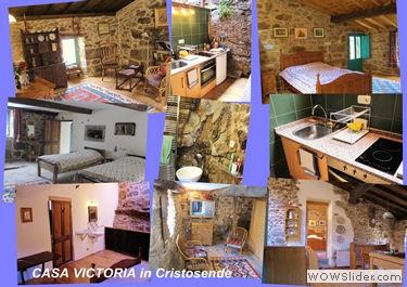 Casa albondiga azul & Victoria