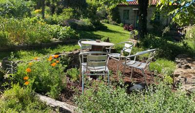 Garden Guest seating